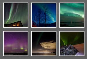 Photos of Northern Lights